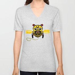 Hei Tiki Bee Toy Unisex V-Neck