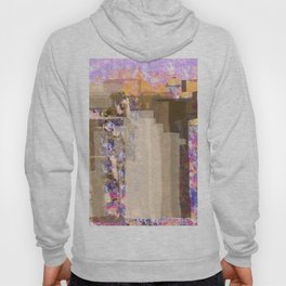 Floral Abstract City Hoody