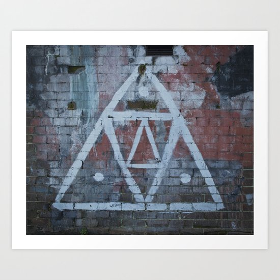 The all Seeing.. Art Print