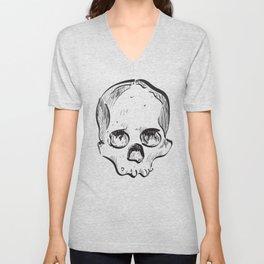 Clumsy Skull Unisex V-Neck