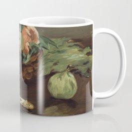 Edouard Manet - Basket of Fruit Coffee Mug