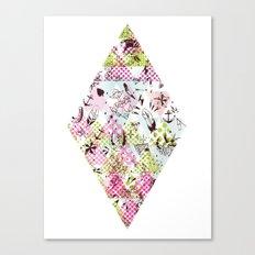 DIAMOND TATTOO Canvas Print