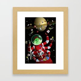 In space no one can hear you jingle Framed Art Print