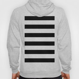 Simply Stripes in Midnight Black Hoody