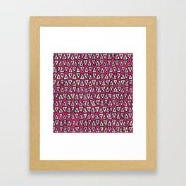 shakal pink Framed Art Print