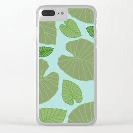TAIWAN no. 1 Clear iPhone Case