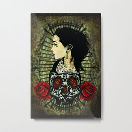 Crania Incarnate Metal Print