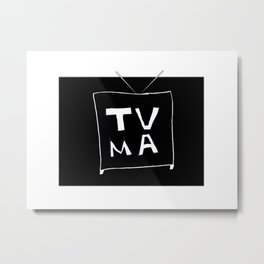 TV Mature Metal Print
