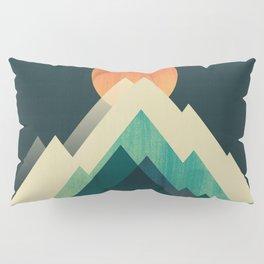 Ablaze on cold mountain Pillow Sham