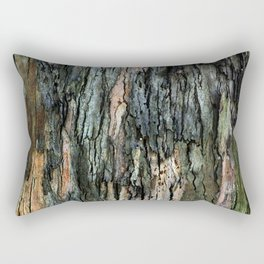 Old Eucalyptus Tree Bark Texture Rectangular Pillow