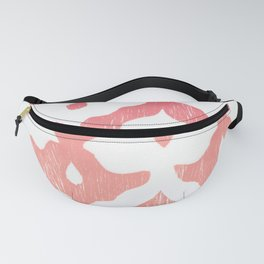 pink Cairo pattern Fanny Pack