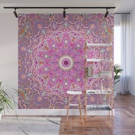 Abstract flower Wall Mural