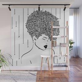 Speechless Wall Mural