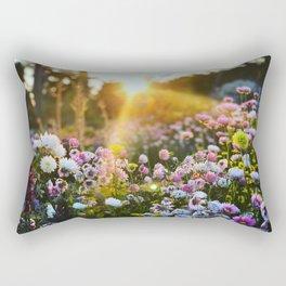 Magical Wildflowers Rectangular Pillow