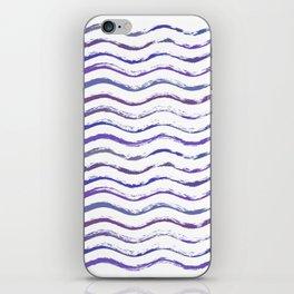Ultraviolet waving iPhone Skin