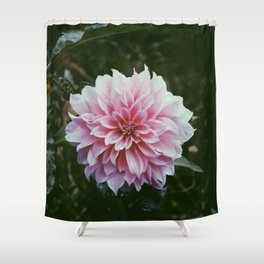 In the Eye of the Flower Shower Curtain