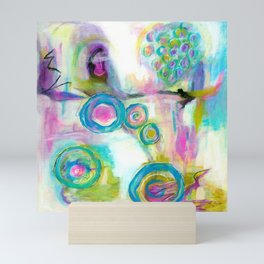 Driven To Distraction, Abstract Landscape Art Mini Art Print