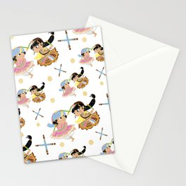 Navratri Pattern Stationery Cards