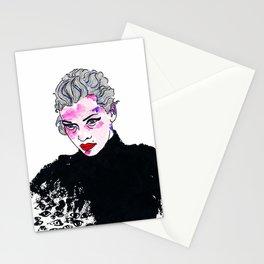 Zwei Mädchen.  Stationery Cards