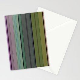 Striped pattern 1. Vertical stripes . Stationery Cards