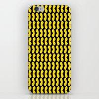 pac man iPhone & iPod Skins featuring Pac-Man by Jennifer Agu