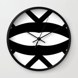 Graphic Connexion N2 Wall Clock