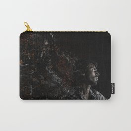 Man Portrait Coming Together Carry-All Pouch