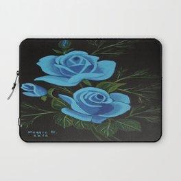 Blue Roses Laptop Sleeve