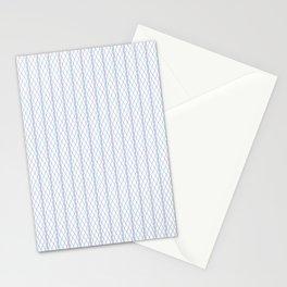Criss Cross Column Pattern Stationery Cards