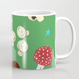 Magic Mushroom Print Coffee Mug