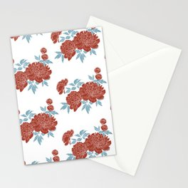 Peonia 2 Stationery Cards