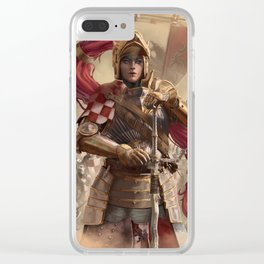 The Brass Huntress Clear iPhone Case