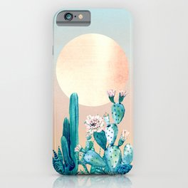 Desert Dawn iPhone Case