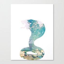 Cobra. Canvas Print
