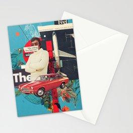 Do Robots live Forever Stationery Cards