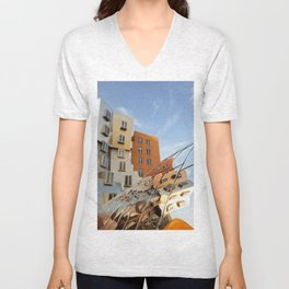 The Ray and Maria Stata Center Unisex V-Neck
