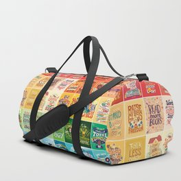 Rainbow of Posters Duffle Bag
