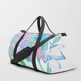 Floral abstract 96 Duffle Bag