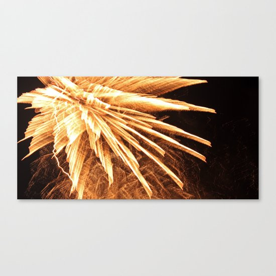 Fire burst Canvas Print
