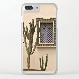 Cactus Djerba Tunisia Clear iPhone Case