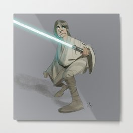 May the Fourth be with you! Metal Print