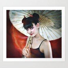 Konichiwa Art Print