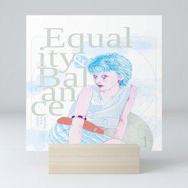 Equality & Balance Mini Art Print