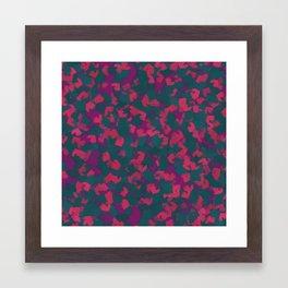 Koz pink Framed Art Print