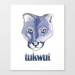 Watercolor Tukwut Canvas Print