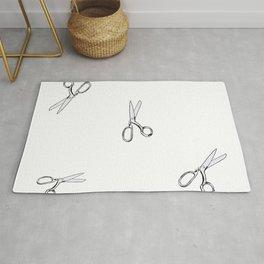 Scissors Rug