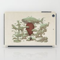 cloud iPad Cases featuring Cloud Watching by Terry Fan