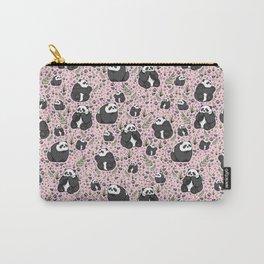 Pretty Panda Pattern Carry-All Pouch
