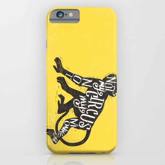 NOT MY CIRCUS iPhone & iPod Case