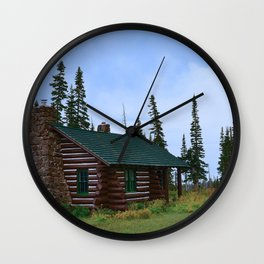 Let's Go Camping! Wall Clock